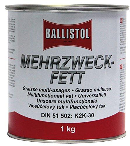 ballistol-grasso-multiuso-dose-eimer-nero-black-mat-wild-1-kg