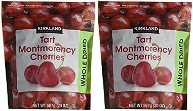 Kirkland Signature Whole Dried Tart Montmorency Cherries 2 Bags of 20 Oz