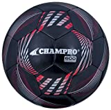 Champro Soccer Ball (Black Panels, 3), 3/Black Panels