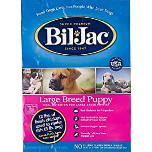 BIL-JAC 319009 Large Breed Puppy Dry Food, 15-Pound
