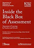 img - for Inside the Black Box of Assessment: Assessment of Learning by Teachers and Schools book / textbook / text book