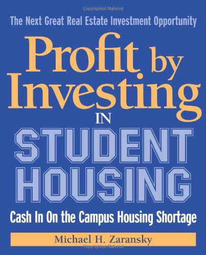 Buy Student Housing Now!