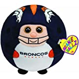 Ty Beanie Ballz Denver Broncos - NFL Ballz