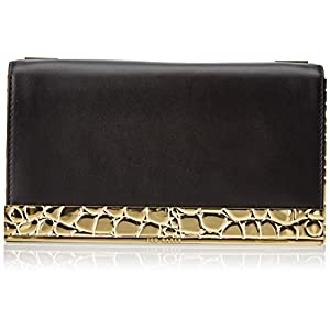 Ted Baker Chain Strap Box Clutch,Black,One Size
