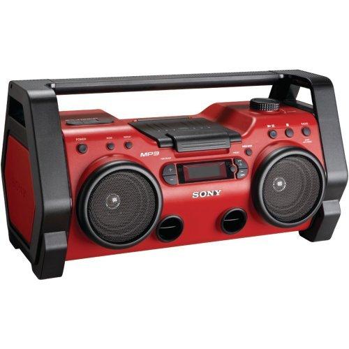 SONY ZSH10CP HEAVY-DUTY CD RADIO BOOM BOX-YZSH10CP
