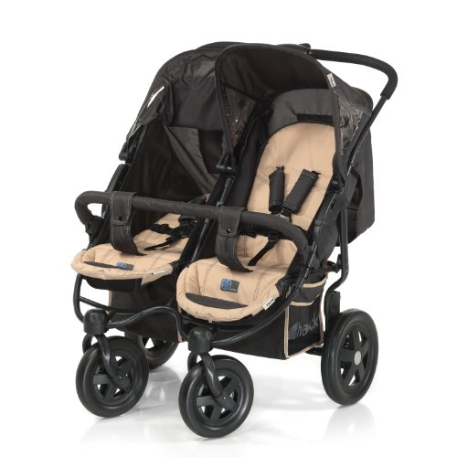 Hauck Roadster 11 Duo SL Twin Pushchair in Wheel