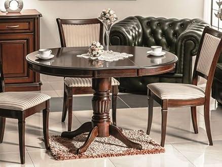 Tavolo in legno classico Margo tavolo da pranzo in legno di noce