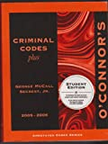 img - for O'Connor's Criminal Codes Plus 2005-2006 book / textbook / text book