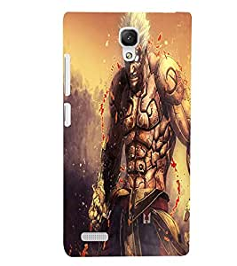 PRINTSWAG ANGRY MONSTER Designer Back Cover Case for XIAOMI REDMI NOTE PRIME