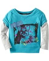 PUMA Little Girls' Little Pullover Slider Sweatshirt