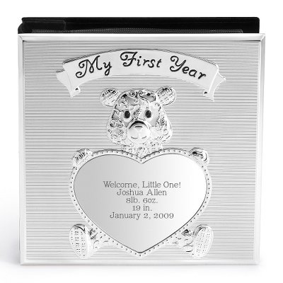Personalized Teddy Bear Album Gift front-744410
