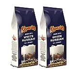 Kahlua - White Russian Gourmet Ground Coffee (2 bags/10oz each) (Color: Brown, Tamaño: 10  Ounces)