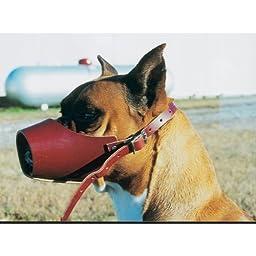 Canine Leather Muzzle Medium