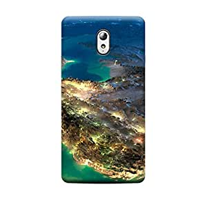 CaseLite Premium Printed Mobile Back Case Cover With Full protection For Lenovo Vibe P1M (Designer Case)
