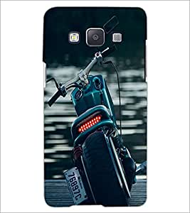 PrintDhaba Bike D-2097 Back Case Cover for SAMSUNG GALAXY E5 (Multi-Coloured)