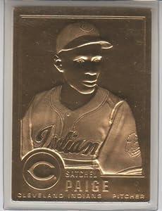 Danbury Mint Satchel Paige 22kt Gold Card #23