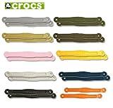 クロックス(crocs) クラシック ストラップ (2本1組) ・チョコレート ・XS