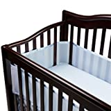 BreathableBaby Breathable Crib Bumper – Blue