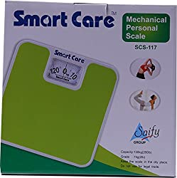 Smart Care SCS 117 Mechanical Health Personal Scale (ANNOUNCEMENTS)