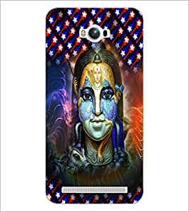 Printdhaba Gods D-5040 Back Case Cover For Asus Zenfone Max Zc550Kl