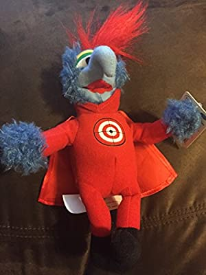 "Disney The Muppets Super Hero Gonzo 9"" Plush"