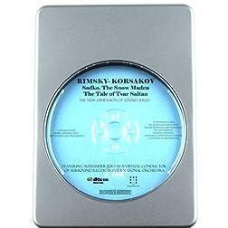 Rimsky-Korsakov: Sadko, The Snow Maden, The Tale of Tsar Saltan (includes Flight of the Bumblebee virtual synthesis by Alexander Jero) [7.1 DTS-HD DTS-HD Master Audio Disc] Blu-ray Audio Signature Series