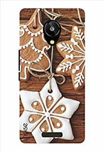 Noise Christmas Cookies Printed Cover for Lava Iris X1 Selfie