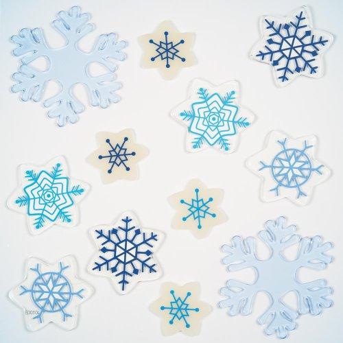 GelGems Icy Flakes Large Bag Gel Clings - 1