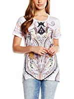 Just Cavalli Camiseta Manga Corta (Blanco / Multicolor)