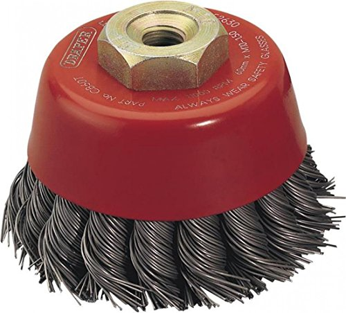 Draper Expert 60Mm X M10 Twist Knot Wire Cup Brush
