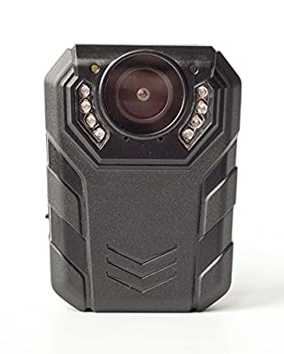 PatrolEyes HD Ultra 64GB 1296p Wide Angle Ultra Police Infrared IR Security Body Waterproof Camera SC-DV7