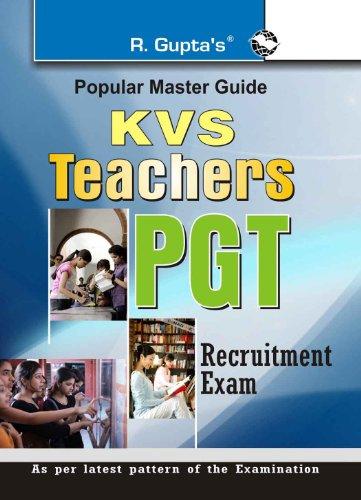 KVS: Teachers PGT Exam Guide (Popular Master Guide) Image