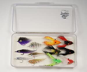 Baby Tarpon Selection W fly Box by EP Flies