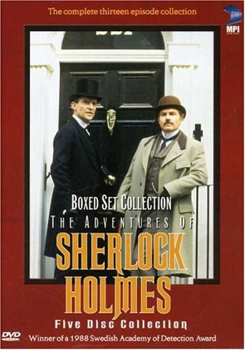The Sherlock Holmes Collection DVD Set
