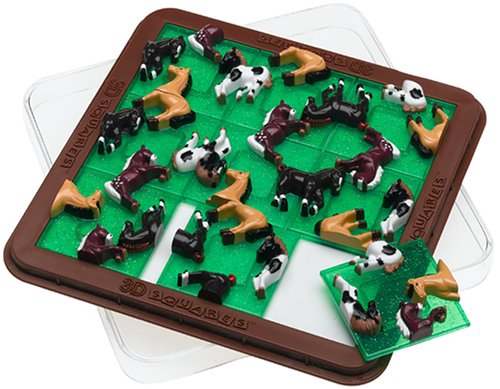 Picture of DaMert 3D Squares Horses Puzzle (B00030EP2G) (Brain Teasers)
