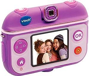 VTech 80-193704 Cámara digital - electrónica para niños (Cámara digital, Púrpura, Chica, MicroSD (TransFlash), SD, Micro-USB, Botones)