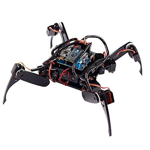 Sunfounder crawling quadruped robot diy kit for arduino