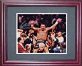 Roberto Duran Signed Color Framed Photo-8x10