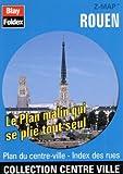 echange, troc Plans Blay Foldex - Plan de centre-ville : Rouen (avec un index)