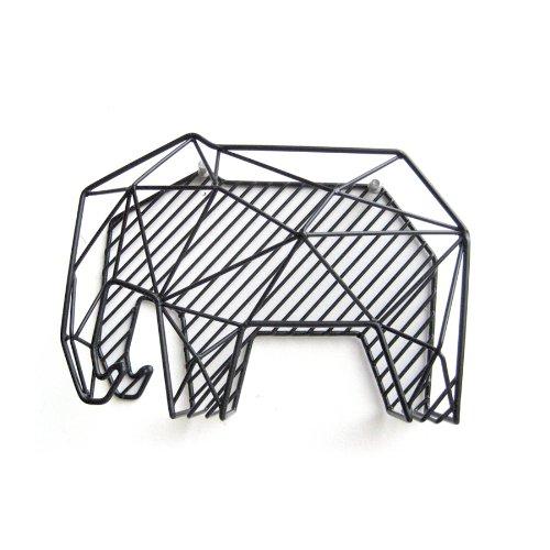 Elefant Dokumentenhalter