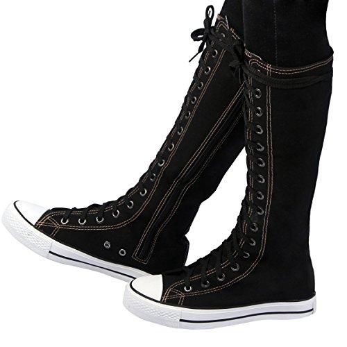 RioRi (Bandit Buckle Black Boots)