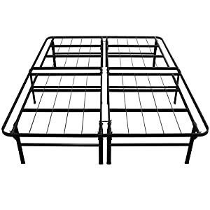 Sleep Master Deluxe Platform Metal Bed Frame, Full