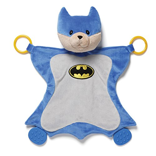 Gund Baby Dc Comics Malone as Batman Activity Baby Blanket - 1