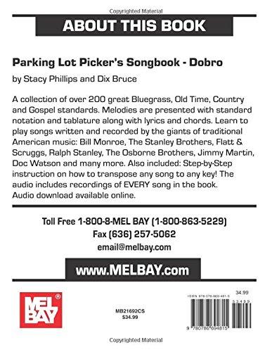 Parking Lot Picker's Songbook - Dobro