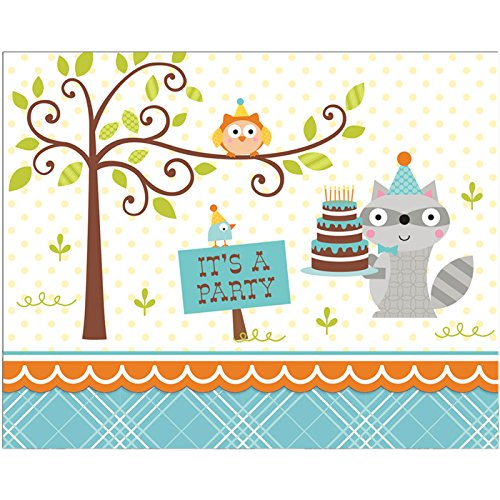 Happi Woodland Boy Invitation (8) Invites Party Supplies