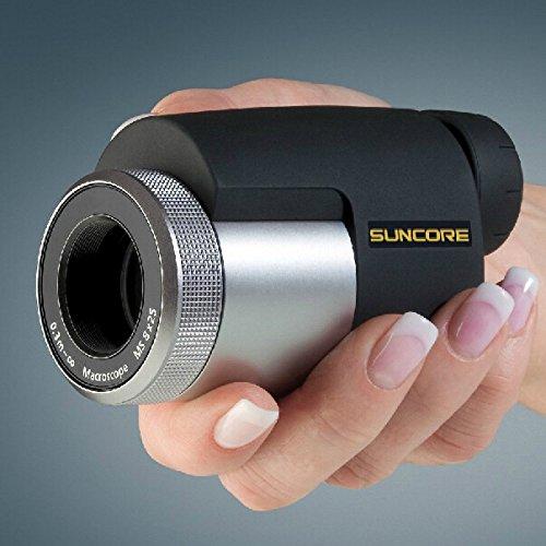 Suncore Travel 8X25 Minocular Telescope Black/Silvery