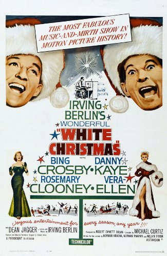 Irving Berlin's White Christmas Movie Poster