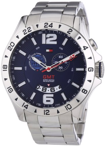 Tommy Hilfiger Herren-Armbanduh XL Baron Cool Sport Analog Quarz 1790975