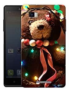 """Teddy With Lights Printed Designer Mobile Back Cover For """"Lenovo Vibe P1"""" By Humor Gang (3D, Matte Finish, Premium Quality, Protective Snap On Slim Hard Phone Case, Multi Color)"""