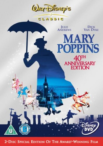 Mary Poppins (2 Disc 40th Anniversary Special Edition) [DVD] (1963)